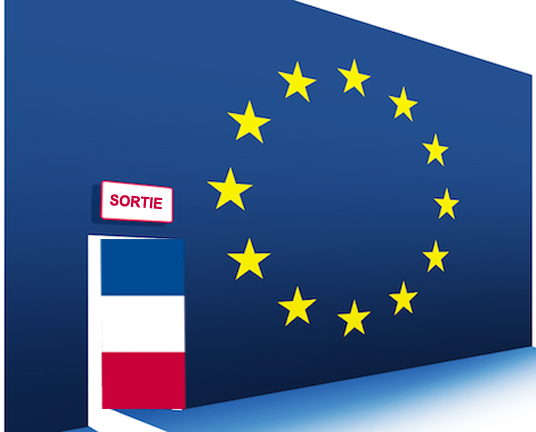 illustration quitter l'Europe